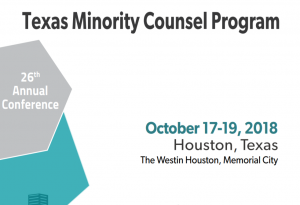 Texas Minority Counsel Program Flyer