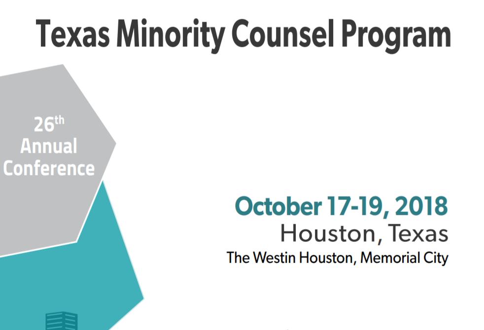 Texas Minority Counsel Program Flyer
